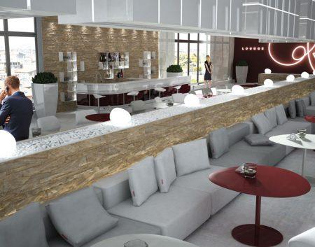 Rivestimenti in Pietra Naturale per Locale Lounge